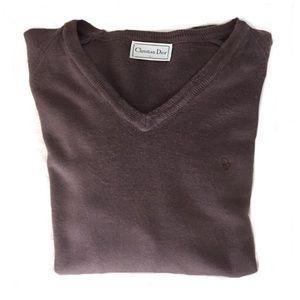 Christian Dior Men's Orlon Pullover Sweater   L